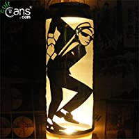 2 Tone Dancer Beer Can Lantern: Ska, Madness, The Specials Pop Art Lamp - Unique Gift!