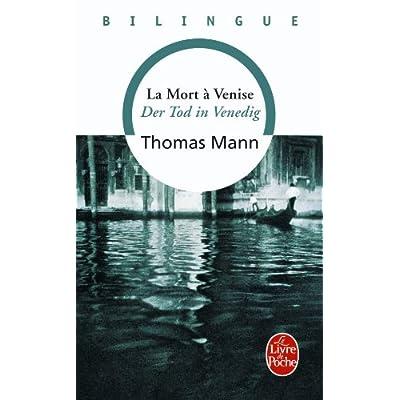 La Mort à Venise - Der Tod in Venedig (édition bilingue français/allemand)