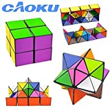 EFG Infinity CAoku 2017 - Cubo de fantasía con Accesorios Triangulares en el Interior, Juguete para aliviar la ansiedad, multiestrella