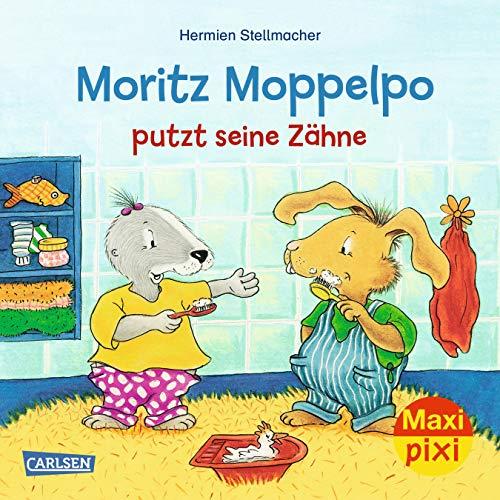 Maxi Pixi 294: VE 5: Moritz Moppelpo putzt seine Zähne (5x1 Exemplar)