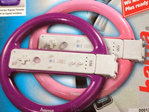 Hama 12055 Driving-KIT Spielekonsole, Lenkrad (Lenkrad-kits)