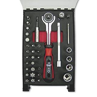 ATHLET-Qualitätswerkzeuge Universal Werkzeug Sortiment, 35-teilig, in Kunststoff-Koffer, 831 Größe 1