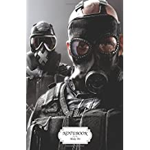 "Notebook : Tom clancys rainbow six siege: Journal Dot-Grid,Graph,Lined,Blank No Lined, Small Pocket Notebook Journal Diary, 120 pages, 5.5"" x 8.5"" (Blank Notebook Journal)"