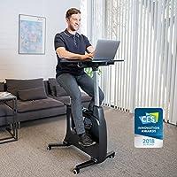 Preisvergleich für FLEXISPOT V9 Serie Höhenverstellbares Tischfahrrad, Heimtrainer, Fitnessfahrrad Ergometer Fitnessbike