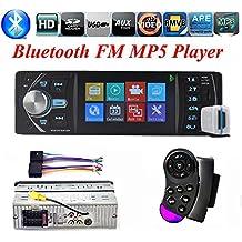 BoomBoost autoradio 4.1 pulgadas de ángulo de visión completo de alta definición de pantalla TFT Bluetooth radio de coche