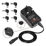 30W Universal AC to DC Power Adapter 100-240V to 3V 4.5V 5V 6V