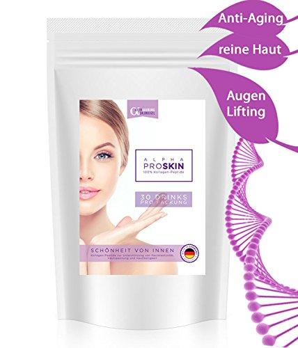 ANTI-AGING 100% KOLLAGEN-PULVER 300g  BESTE Lösung gegen Haut-Falten Augen-Ringe AKNE Pickel Mitesser Cellulite  hochdosiert  glatte...