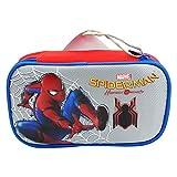 Seven DC Comics Spiderman Home Coming Sac à Crayon Maxi à Deux Fermeture Eclair Couleurs Crayon Porte-Crayons Pratique pour l' Ecole