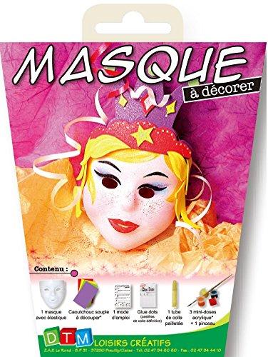 Tauchmaske für Kinder zum Dekorieren, Prinzessin