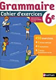 Cahier de Grammaire 6e