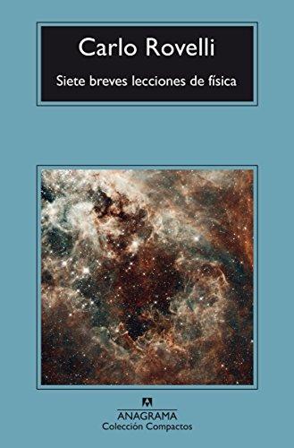 Siete breves lecciones de física (Compactos) por Carlo Rovelli