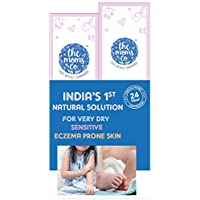 The Moms Co. Very Dry, Sensitive Skin Solution with 24 Hours Clinically Proven Moisturising Relief Wash and Lotion