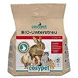 COSYPET Tiereinstreu, Unterstreu 2 x 10 l = 10 kg, Bio Pellets