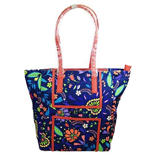 Seven Shopper Hoy Flowers Damen Madchen Freizeit Henkeltaschen Umhängetaschen Shopping