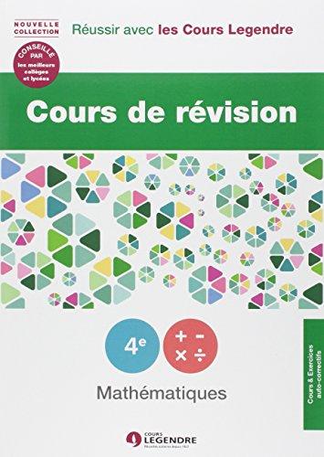Cours de révision Mathématiques 4e : Leçons et exercices
