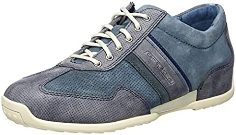 camel active Herren Space 25 Sneakers, Blau (Jeans/Navy 31), 42.5 EU
