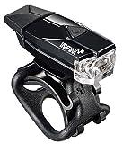 Helmleuchte Infini I-261 Mini Lava weiße LED, schwarz, USB-Anschluss (1 Stück)