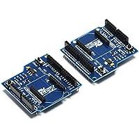 Gikfun - Módulo de control inalámbrico Bluetooth XBee Shield V03 para Zigbee Arduino (2 unidades