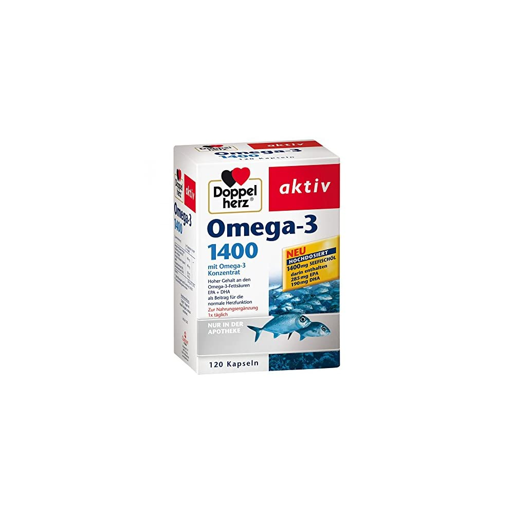 Doppelherz Omega 3 1400 Kapseln 120 Stk