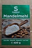Bio Mandelmehl teilentölt extra fein Low Carb 400 g