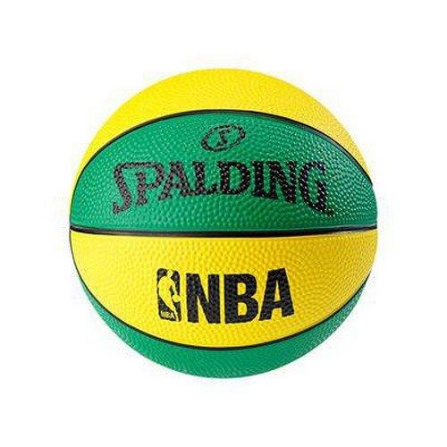 Spalding NBA Miniball Basketball Ball, grün/Gelb, 1