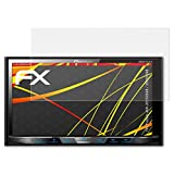 atFoliX Folie für Pioneer AVH-X5700DAB/X5800DAB Displayschutzfolie - 2 x FX-Antireflex-HD hochauflösende entspiegelnde Schutzfolie