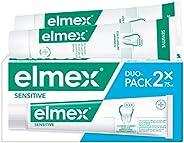 elmex Sensitive Dentifricio Per Denti Sensibili, Triplice Azione Efficace Per Denti Sensibili, Con Fluoruro Am