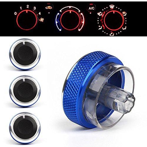 Klimaanlage Drehknopf Switch Control Button 3blau (Drehknopf Klimaanlage)