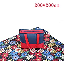 MONEYY The Picnic mat red and white format outdoor portable moisture pad tent picnic the picnic camping mats 300*439cm