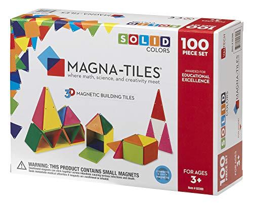 Magna-Tiles® Undurchsichtig 100 Stücke Satz von Valtech -