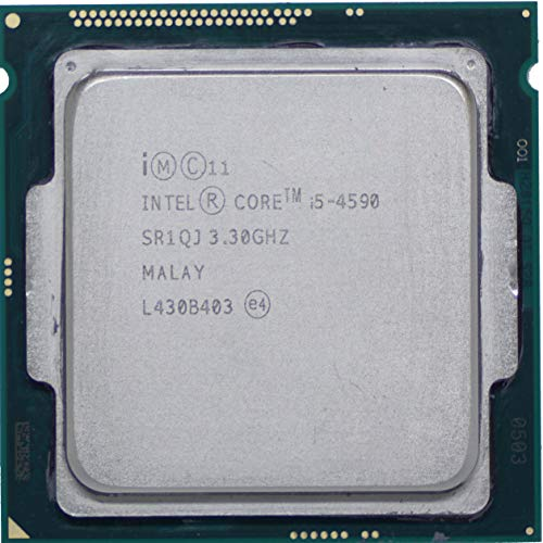 Intel Core i5-4590 Prozessor, 3,3 GHz, 6 MB, 5 GT/s FCLGA1150 SR1QJ (Intel I5-4590 Prozessor)