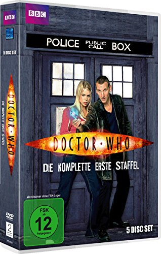 Doctor Who - Die komplette erste Staffel [5 DVDs] (World Series 2005)