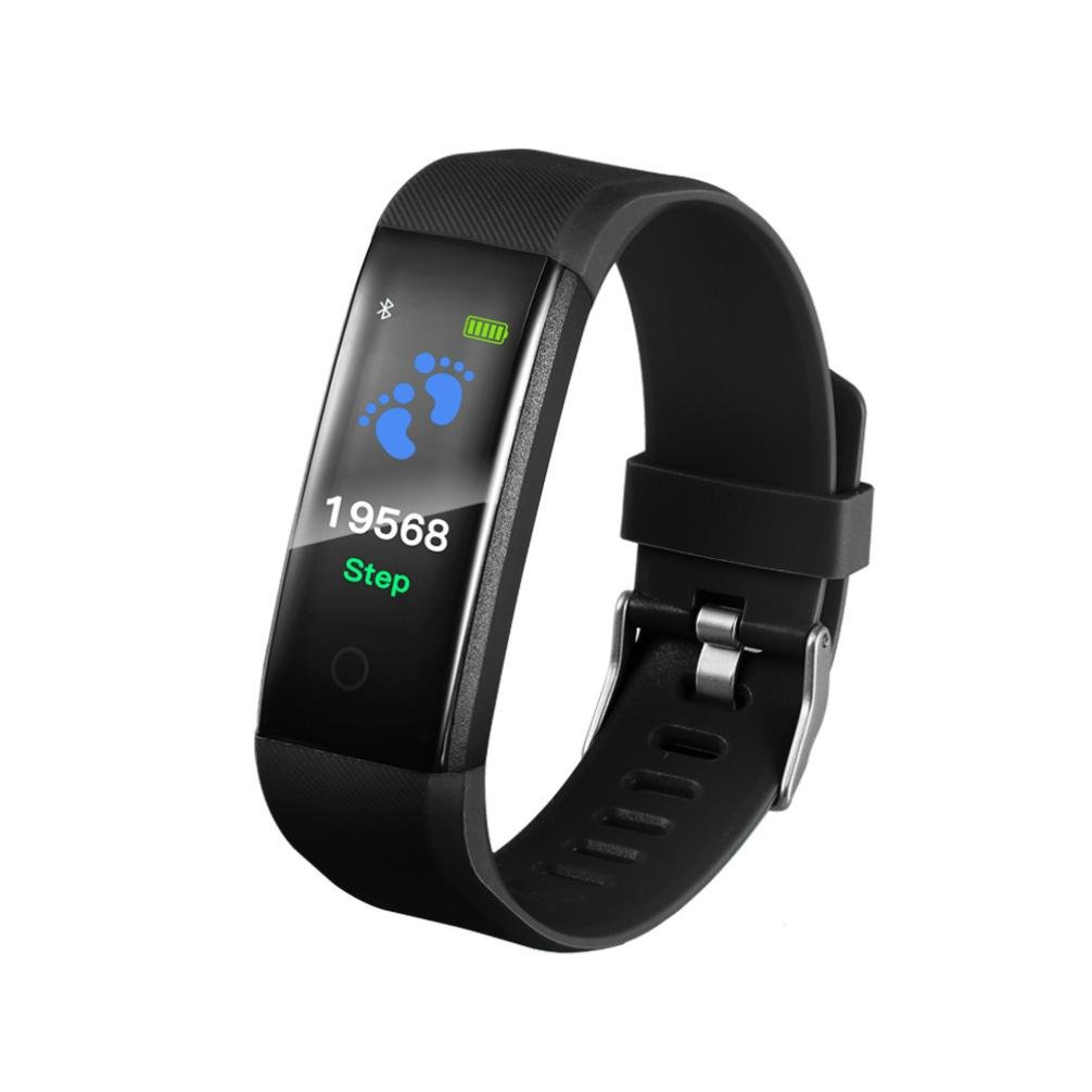 2018 Fitness Tracker Smart Wrist Watch U Watch Phone Mate For IOS Android Vneirw 115PLUS Colourful UI Display Sports Watch Smart Watch with Bluetooth/Calorie/Sleep Management
