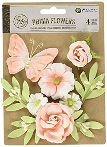 Prima Marketing Paper Esperanza Butterfly and Flower Mix-Trella