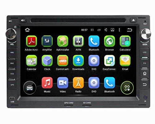 (Negro) 7 pulgadas Coche Radio con GPS Quad Core Android 5.1.1 Lollipop para Volkswagen/VW Passat B5(1999-2005)/Golf 4(1999-2005)/Polo(1999-2005)/Bora(1999-2005)/Jetta(1999-2005)/Sharan(1999-2005)/T5(1999-2005)/Citi(2004-2009)/MK3(2000-2009)/MK4(2000-2009)/Golf(2004-2005)