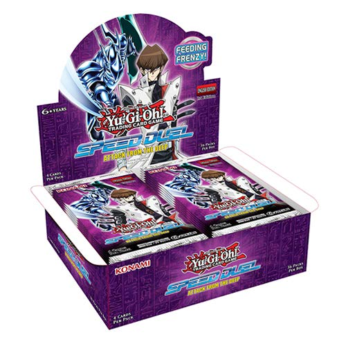 Yu-Gi-Oh! KONAFTD Speed Duel-Attack aus dem Deep Booster Display 36 Päckchen -