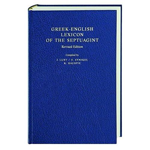 Greek-English Lexicon of the Septuagint