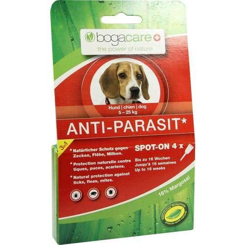 BOGACARE ANTI-PARASIT Spot-on Hund klein 6 ml Flüssigkeit -