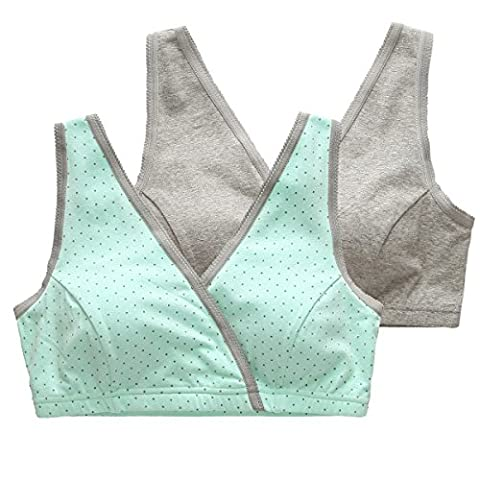 Nursing Tank Sleep Bra, KUCI® Women's Nursing Bra Sleep Tank for Nursing and Maternity
