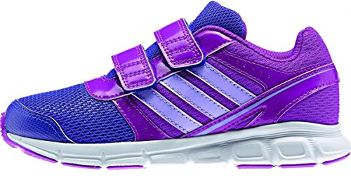 adidas Unisex-Kinder Hyperfast Cf Sneaker, lila/Indigo, 28 EU