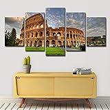 CAT NINE Pittura Decorazione HD Impreso Roma Antigua Coliseo Pintura En Lienzo Impresión De La Habitación Decoración Póster Imagen Lienzo