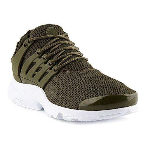 FiveSix Herren Sneaker Sportschuhe Laufschuhe Freizeitschuhe Textilschuhe Schnürschuhe Low-Top Schuhe Grün/Weiss EU 40
