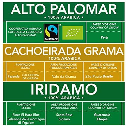 ESE Kaffeepads Test 100% Arabica Gemischte Packung: Brasilien, Peru, Äthiopien und Guatemala| 12 x 44mm