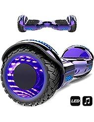 MARKBOARD Hoverboard,Elektro Scooter 6,5 LED Elektro Scooter E-Balance E-Skateboard Elektroroller Bluetooth LED