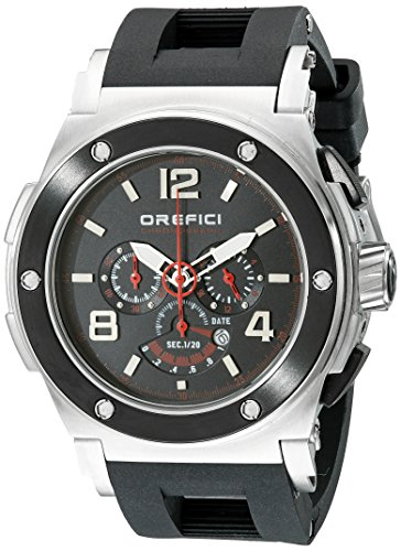 Orefici Unisex ORM1C4811 Analog Display Quartz Black Watch