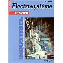 Industriel : Electrosystème, 1ère STI Génie électrotechnique (Manuel)