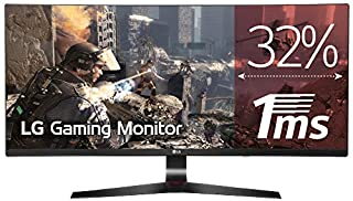 "LG 34UC79G Écran PC LED IPS GAMING 34"" - 2560 x 1080 - 144Hz - 5 ms - Noir (HDMI, Display Port, USB 3,0) (B01LN1ONI4)   Amazon price tracker / tracking, Amazon price history charts, Amazon price watches, Amazon price drop alerts"