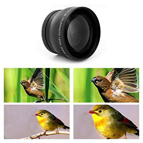 52mm-58mm-20x-teleobiettivo-per-fotocamere-reflex-digitali-Nikon-D90-D80-D700-D3000-D3100-D3200-D5000-D5100-D5200-18-55mm-nero
