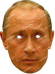 Idea Regalo - Funny Costumes Maschera vladmir Putin, Multicolore, Unica (Rubies vputi02)