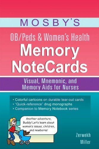 mosbys-ob-peds-womens-health-memory-notecards-visual-mnemonic-and-memory-aids-for-nurses-by-zerwekh-